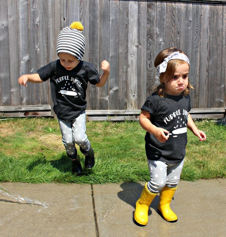 Puddle Jumper T-Shirt / King and Sage #kingandsage #babytshirt #kidstshirt #babyclothes #madeincanada