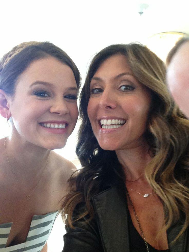 Selfie! Sosie Bacon (Miss Golden Globe 2014) and me