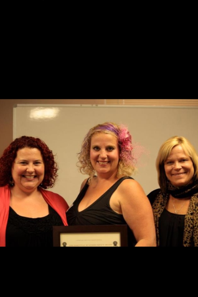 One of our clients Joy In Your Kitchen being recognized for their achievements