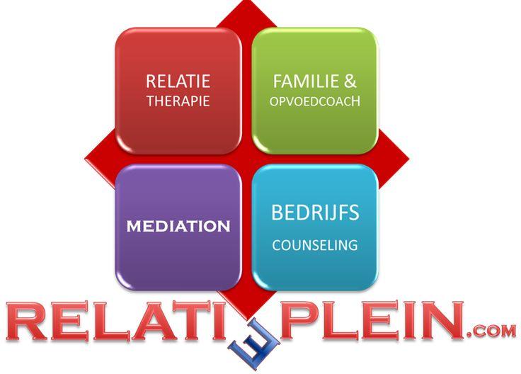 Vanaf 4 november 2014 is Relatieplein.com actief vanuit het midden van Nederland en gevestigd in Zeewolde (Flevoland)  Relatieplein richt zich op relatieproblemen in alle soorten en maten en kan ook conflicten en (echt)scheidingen als neutrale mediator samen oplossen.