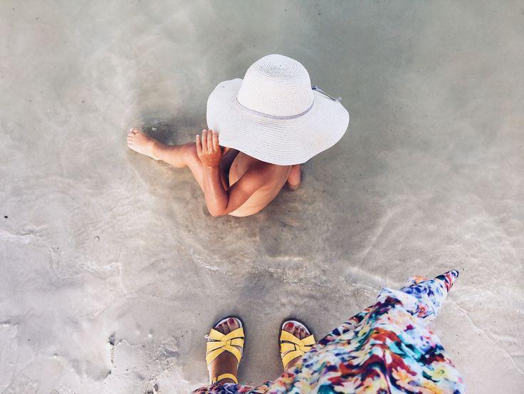 Cahors , capeline , Salt Water Sandals