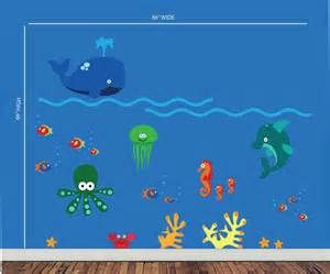 sea creature wall decal - - Yahoo Image Search Results