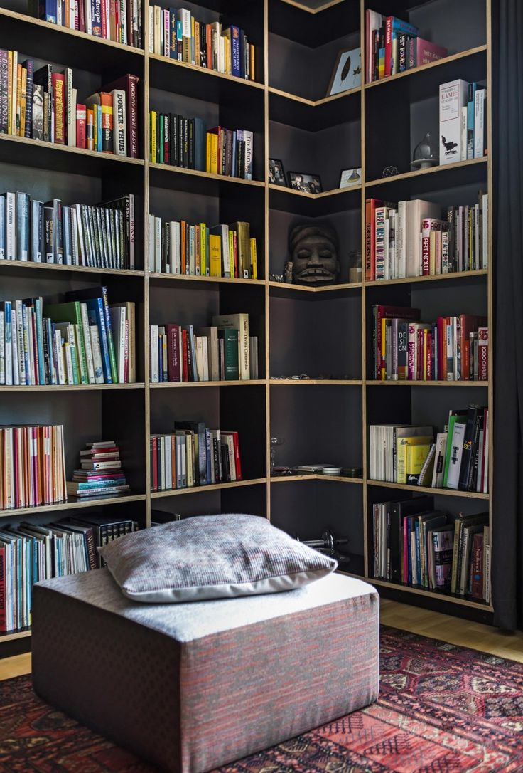 Small Home Library | Photographer Henny Van Belkom | Vtwonen June 2015