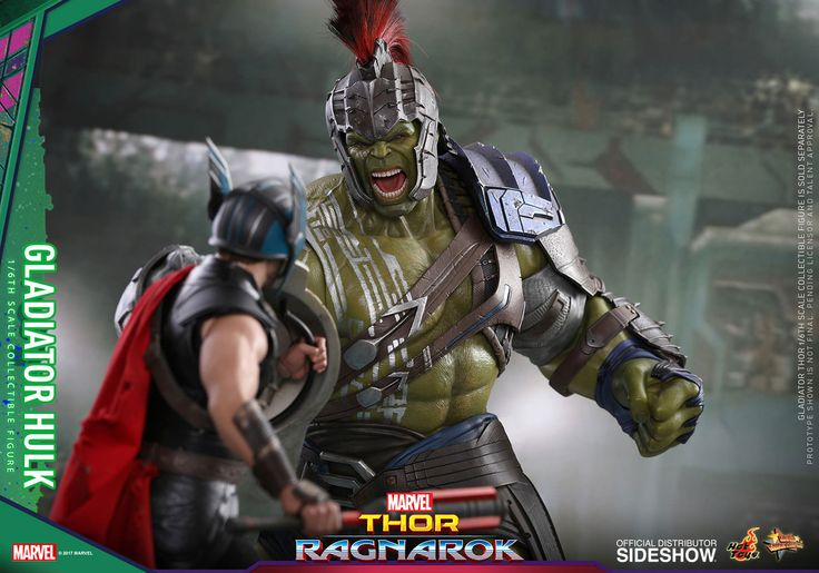 Marvel Gladiator Hulk Sixth Scale Figure by Hot Toys | Sideshow Collectibles