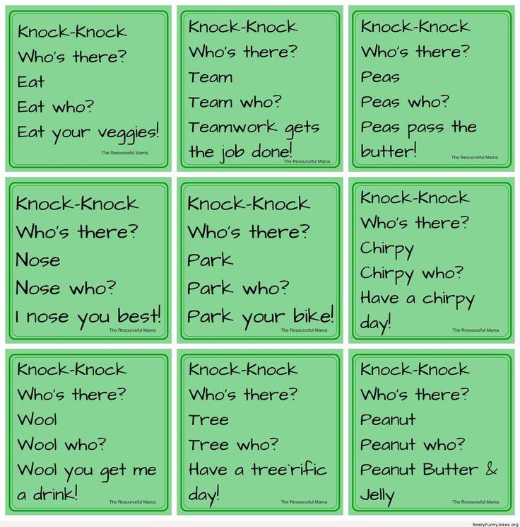 Funny Knock Knock Jokes