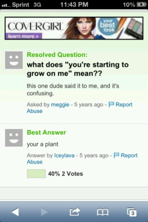 from Emmett yahoo dating answers