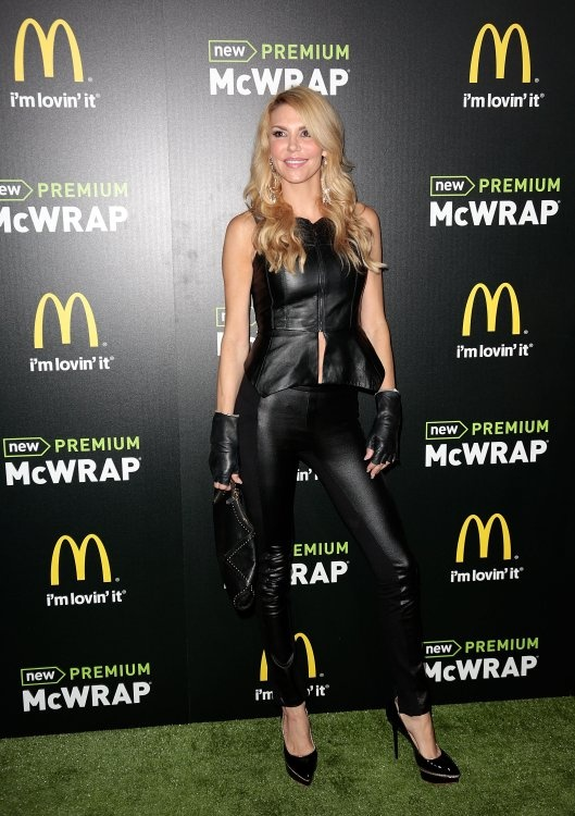 I don't care what you say, I think she looks hot and it's an interesting outfit.  The amazing Brandi Glanville