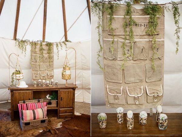 safari wedding ideas // - photo by Clayton Austin - view more: http://ruffledblog.com/southwestern-desert-wedding-ideas