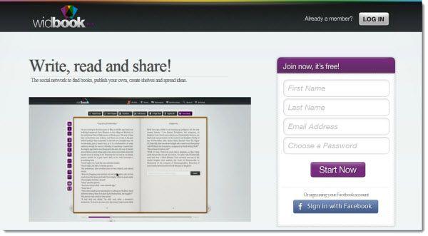 Widbook, red social para escribir y compartir libros digitales
