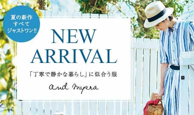 and myera NEW ARRIVAL