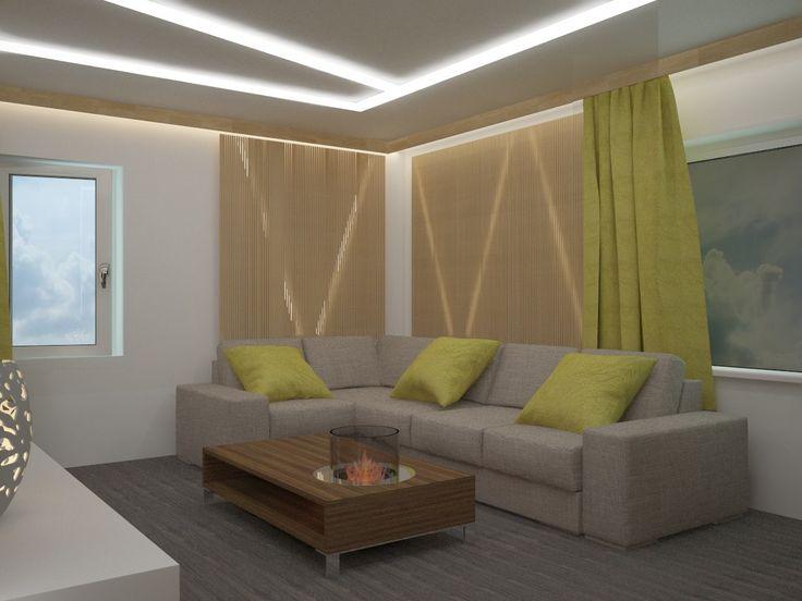 Гостиная в современном стиле - Интерьеры и архитектурные решения