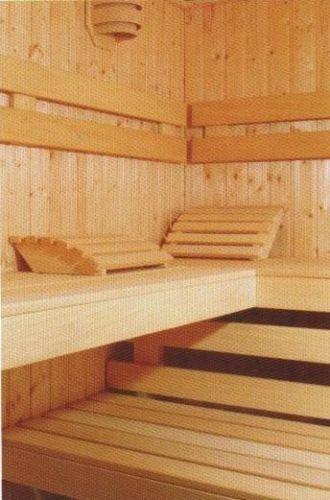 EBAY Saunalie-Abachibank-Saunabank-Saunaholzbank-Abachi-Lounger-Sauna-Wooden bench