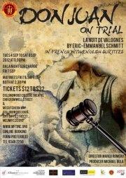 The official poster for Don Juan on Trial [La Nuit de Valognes] - qu'est-ce que vous en pensez?