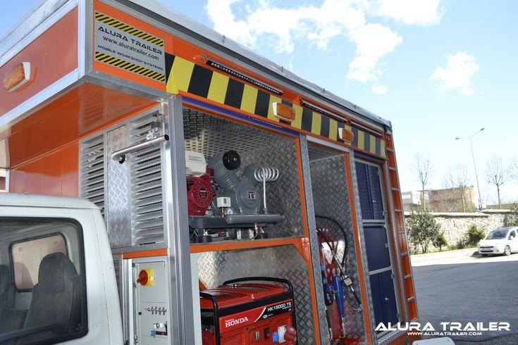 Workshop Vehicles - Alura Trailer - Turkey