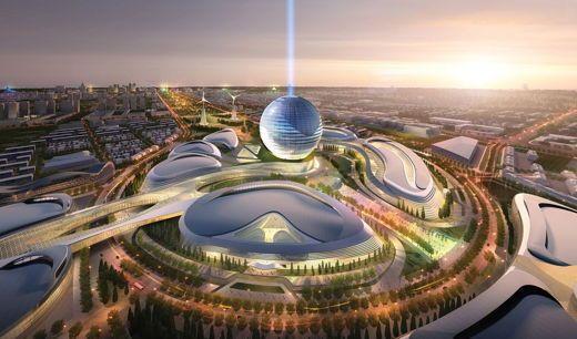 Kazakhstan-president-visits-Astana-Expo-2017-site