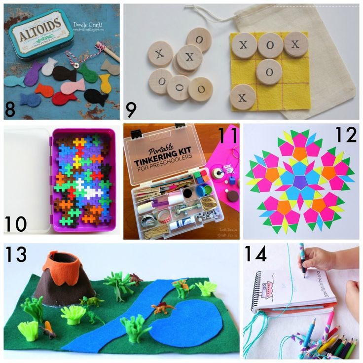 30+ Simple and Easy DIY Travel Kits for Kids.  Great for vacations - road trips, plane trips, etc - but also great for entertaining kids in waiting rooms and restaurants.  From Fun at Home with Kids