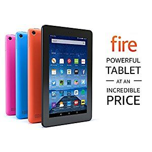 Fire Tablet, 7' Display, Wi-Fi, 8 GB - Includ... by Amazon http://amzn.to/2hHxDEU