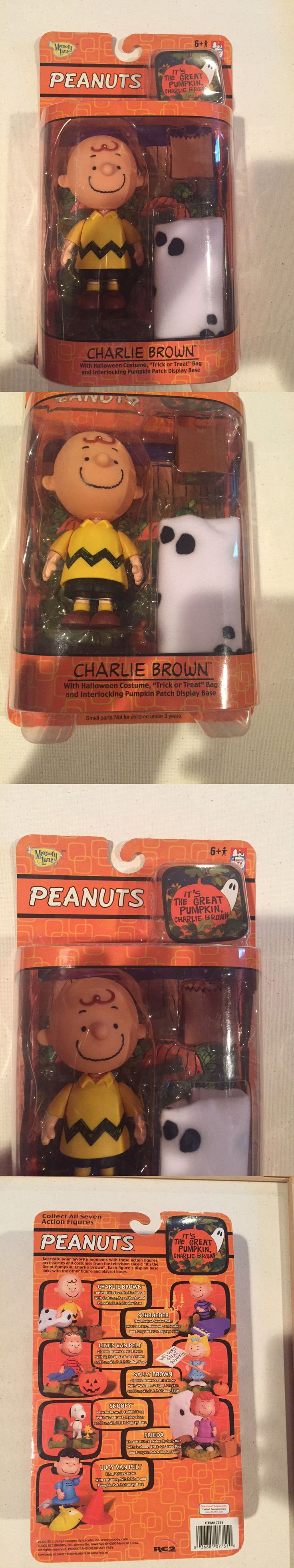 Peanuts Gang 773: Its The Great Pumpkin Charlie Brown - Charlie Brown Figurine With Costume 2005 -> BUY IT NOW ONLY: $35 on eBay!