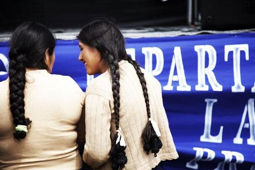 Fotorreportajes - Bolivia: Somos MAS. Somos millones