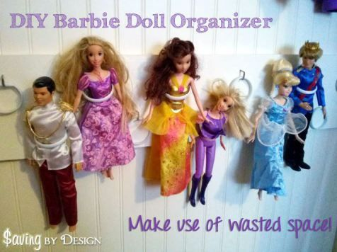 DIY Barbie Doll Organizer   Cheap   Easy. 17 Best ideas about Cheap Doll Houses on Pinterest   Diy dollhouse