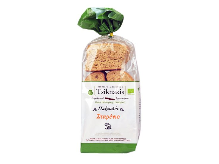 Wheat Rusk with wholemeal sourdough from natural ingredients without preservatives.