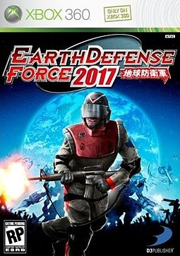Earth Defense Force 2017....this game is pretty stupid but weirdly fun. My boyfriend and I used to sit and play it for hours lolol!