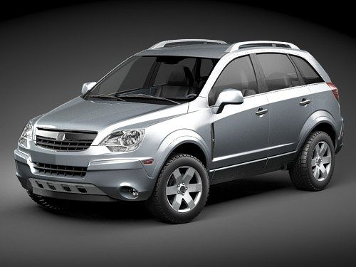 Saturn Vue 2011 Suv 3D Model - 3D Model