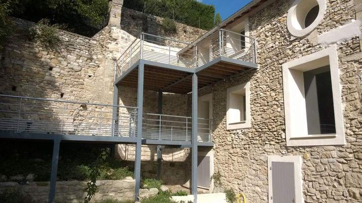 best 25 terrasse suspendue ideas on pinterest terrasse jardin caillebotis bois and. Black Bedroom Furniture Sets. Home Design Ideas