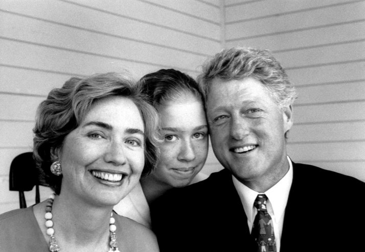 Hillary Clinton, Chelsea Clinton and Bill Clinton | LIFE With First Ladies, From Eleanor Roosevelt to Hillary | LIFE.com
