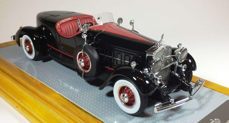 Ilario IL43098 1/43 Cadillac 452A Roadster Farina 1931 Intermediate restoration
