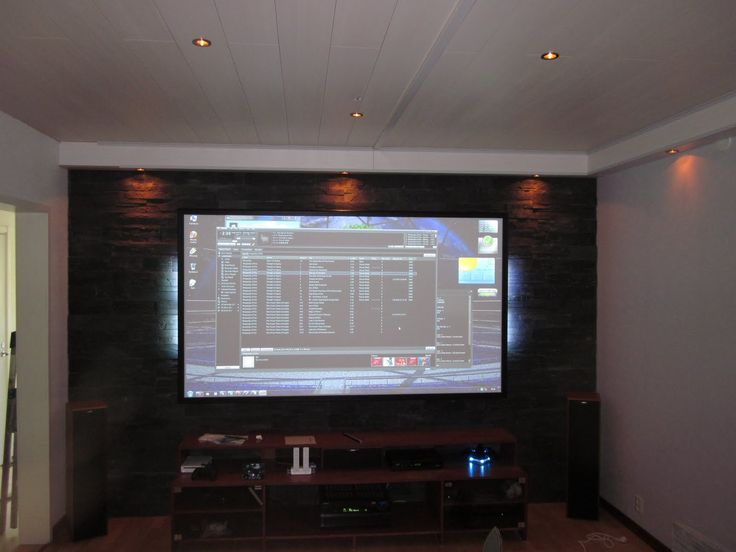 Home Cinema ver 3.0 .Sony VPL-HW10 , Onkyo TX-SR875, DIY Screen