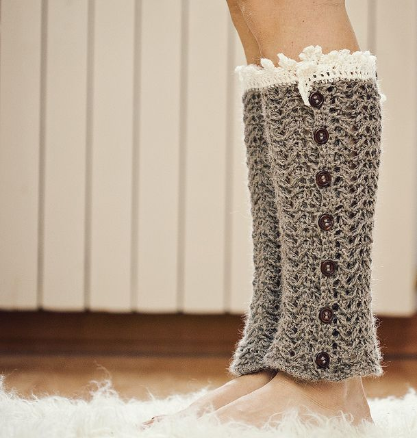 Luxury Leg Warmers by mon petit violon, via Flickr