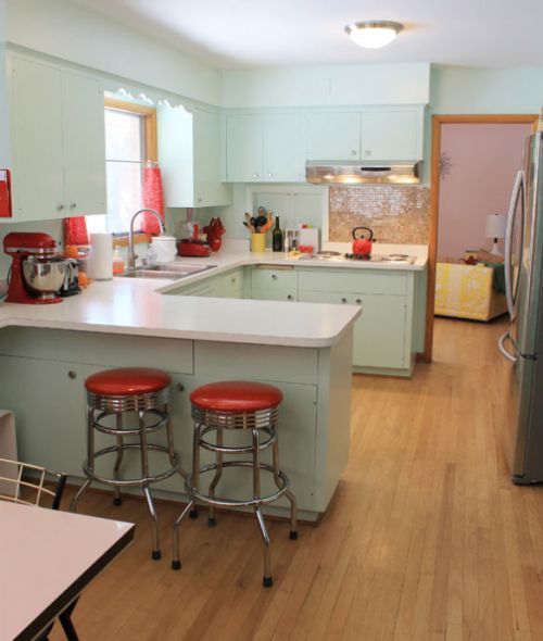 44 Best Mid-Century Kitchen Remodel Images On Pinterest