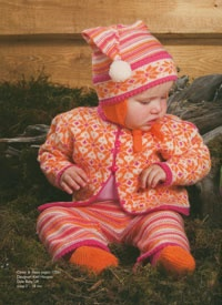 KidsKnits Dale of Norway Knitting Kits From Dale Baby Book #175
