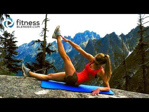 Mountain Top Abs Workout -- Toning Abs & Obliques Workout - (6 min.) - nicely challenging. a lot of rotation
