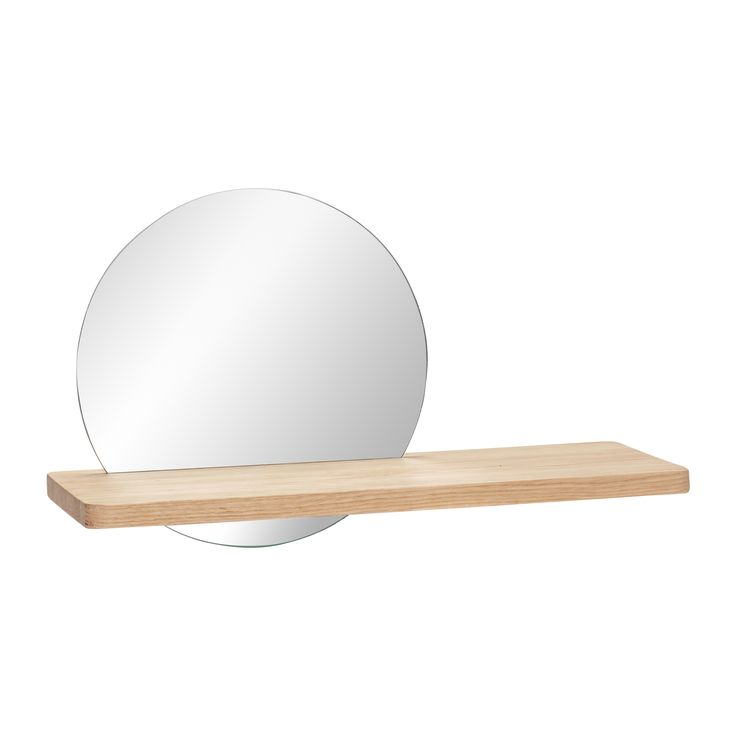 Shelf with mirror. Item number: 880403 - Designed by Hübsch
