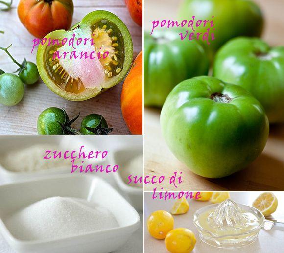 ingredienti-marmellata-pomodori-verdi