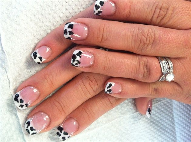 cow - Nail Art Gallery by NAILS Magazine
