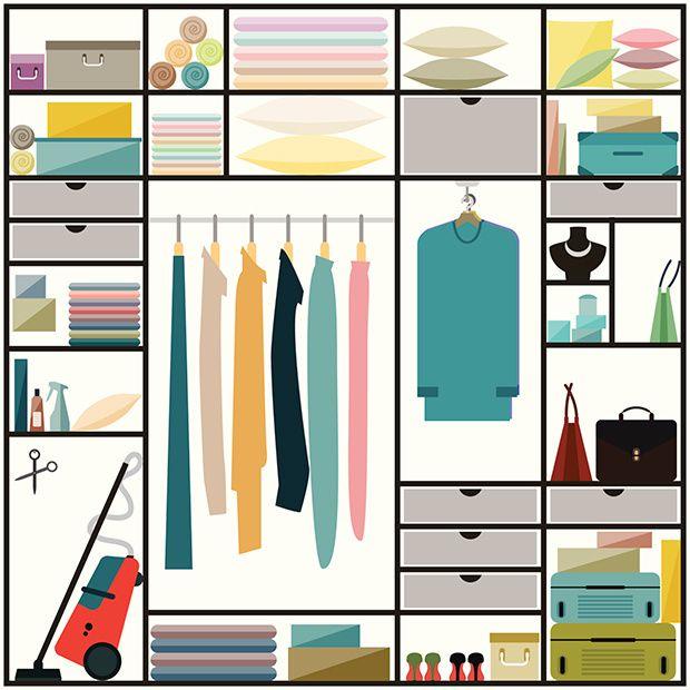 10 Consejos para ser ordenada.  Ideas de Marie Kondo, Fay Wolf o Andrea Dekker. Artículo de AD  http://www.revistaad.es/decoracion/articulos/mandamientos-de-los-gurus-del-orden/17836