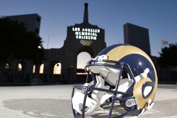 Rams will debut new uniforms by 2019 with new stadium | Yardbarker.com