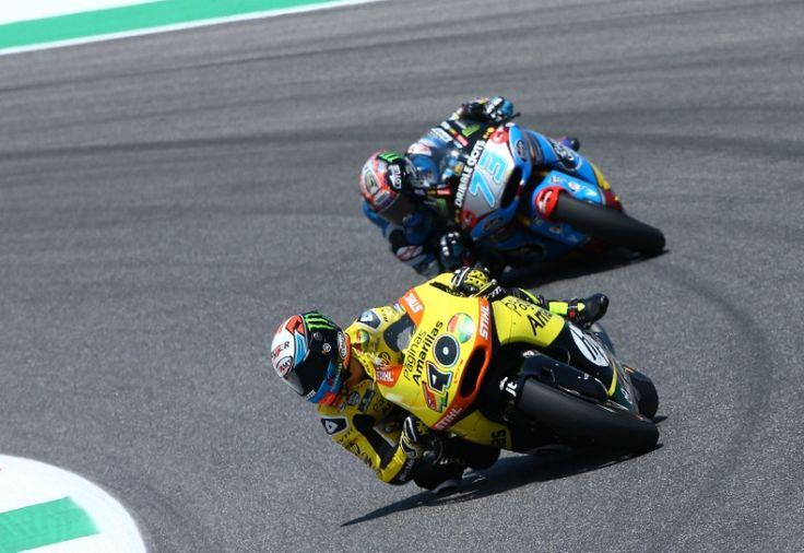 Rins, Moto2 race Italian MotoGP 2015