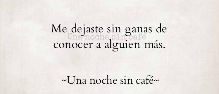 (29) Una noche sin café