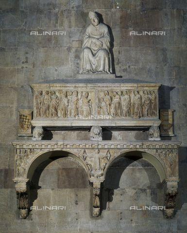 Tino da Camaino, Monumento funerario del Vescovo Orso, 1323, santa Maria del Fiore, Firenze