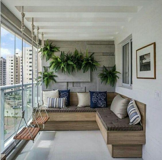 Balcony Ideas Apartment Small Garden