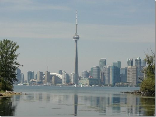 Toronto Skyline #cntower #toronto #skyline