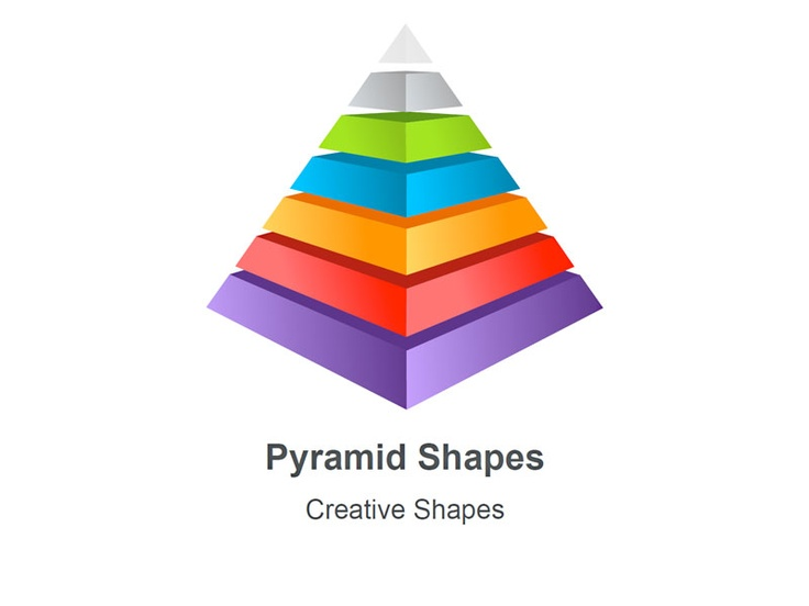 Pyramid - Business Diagrams for Apple Keynote.  These 8 editable .Key shapes are used by business consultants to represent cross sectional views, interconnected perspectives and hierarchies in a classical representation such as Credits and Debits, Insurance and Risks among others. These slides are easily customized and you can change the color, font and add text accordingly. Buy and download from muezart.com