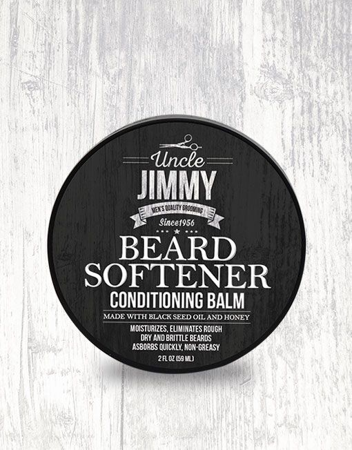 Uncle Jimmy Beard Softener 2oz