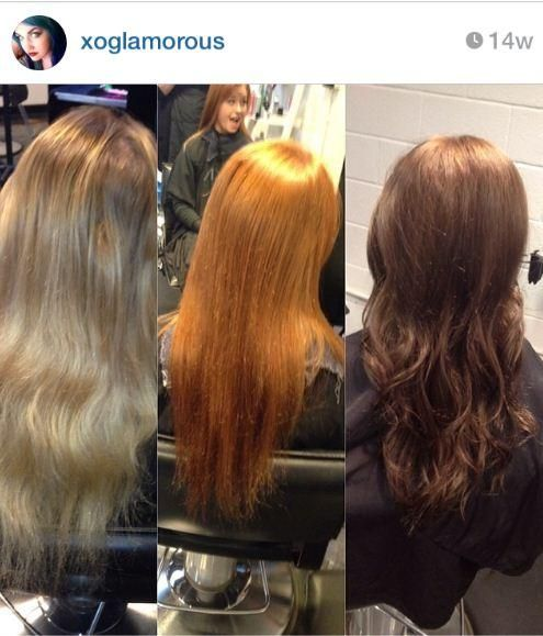 How to tint back makeover using redken shades eq hair for Salon redken