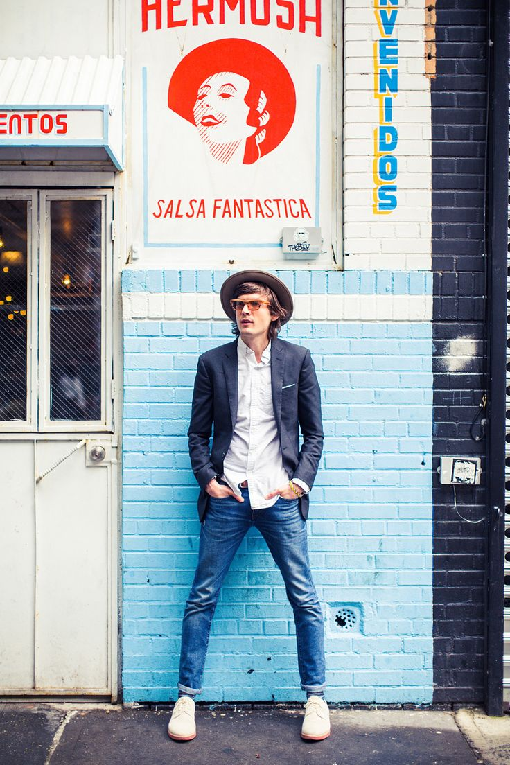 Hat, white shirt, jeans equal #summerstyle. #menswear #mensstyle
