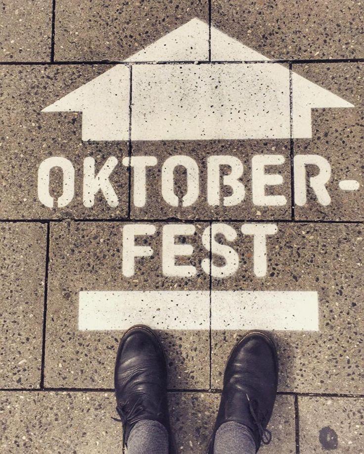 Es ist diese Zeit im Jahr...   #latergram #fromwhereistand #oktoberfest #wiesn #wiesn2017